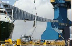 Arranca construcción de buque para Pemex