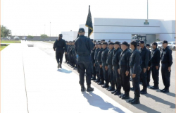 Entrega Seguridad Pública Estatal 52  policías acreditables más a Tamaulipas