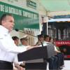 Con unidad y fortaleza  el Ayuntamiento porteño conmemora  el 185  aniversario de la  batalla de Tampico.