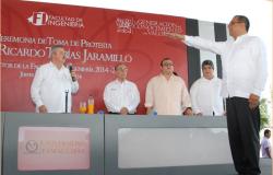 Rinde protesta Ricardo Tobías como director de la facultad de ingeniería-UAT Tampico