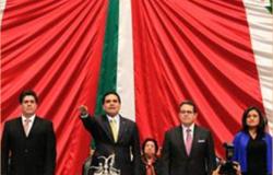 Aureoles asume presidencia de San Lázaro