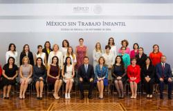 """María del Pilar asiste a la presentación """"México  sin Trabajo Infantil"""" evento encabezado por EPN"""