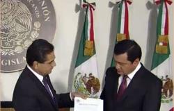 Osorio Chong entrega el Segundo Informe de Gobierno en San Lázaro