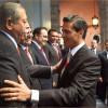 Acude Egidio a Mensaje del Segundo Informe de EPN