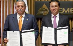 Comparte Egidio Agenda Energética de Tamaulipas con titulares de PEMEX y CFE