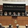 Cita Senado a cinco secretarios para glosa de Informe