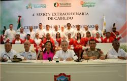 Con ideales de la Victoria de Tampico 1829, buscamos nuevas victorias para nuestra ciudad; GTS.