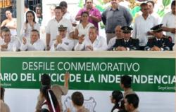 Todo Tamaulipas festeja el mes patrio