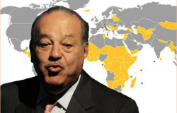 Fortuna de Slim supera PIB de 127 países