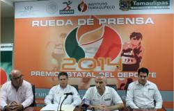 Presentan convocatoria Premio Estatal del Deporte 2014