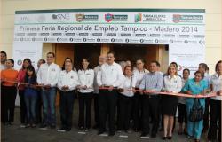 Ofrecen empresas mil 600 vacantes en Feria del Empleo en Tampico