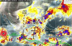 Seis fenómenos meteorológicos afectan gran parte de México