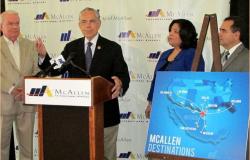 Mejoran y expanden el aeropuerto internacional de McAllen