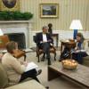Se reúne Obama con equipo de seguridad nacional por ébola