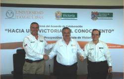 Acuerdan UAT, municipio de Victoria y Secretaría de Educación  impulsar proyecto Ciudad del Conocimiento