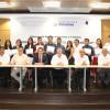 Entrega rector reconocimientos a jóvenes de excelencia del programa Banamex-UAT