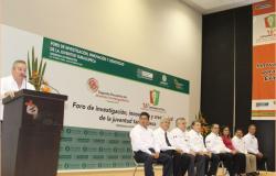 Inaugura rector encuentro de jóvenes investigadores