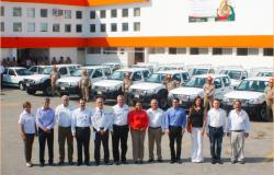 Entrega COMAPA Victoria parque vehicular y señalética vial.