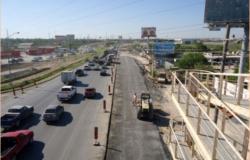Modernizan distribuidor vial en Reynosa