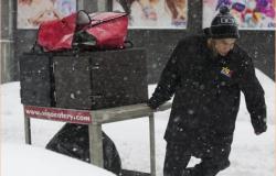 Al menos 500 vuelos cancelados en EU por la tormenta invernal