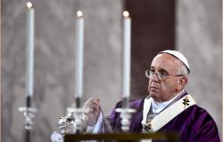 Papa inicia celebraciones del Miércoles de Ceniza