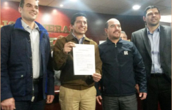 Se registra Felipe como candidato a la gubernatura