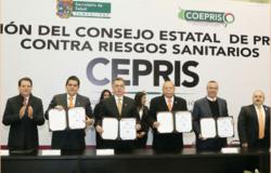 Instala Egidio Torre Cantú el Consejo Estatal de Protección contra Riesgos Sanitarios