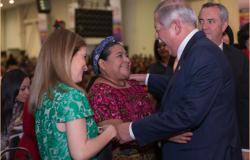 Políticas públicas de Tamaulipas benefician el avance de las mujeres y las familias: Rigoberta Menchú