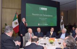 Se reúne el Gobernador con Líderes tamaulipecos en el DF