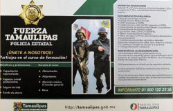 Participa Seguridad Pública en Tercera Feria Nacional de Empleo en Matamoros