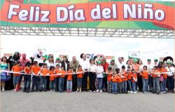 El Gobierno del Estado y el DIF Tamaulipas festejaron a los niños