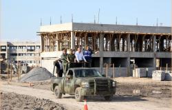Supervisa Egidio construcción de cuartel para la Policía Militar