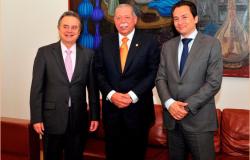 """El Secretario de Energía, el Director de Petróleos Mexicanos y el Gobernador, anunciaron la construcción de un ramal del gasoducto """"Los Ramones"""""""