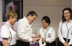 Apoya Secretaría de Finanzas, a la Cruz Roja