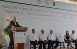 Subsecretario Federal, inaugura infraestructura educativa