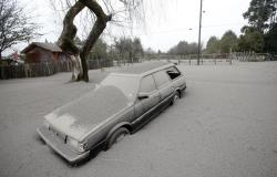 Chile padece por lluvia de ceniza