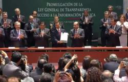 Ley de Transparencia permitirá un gobierno abierto: EPN