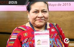'No vendan su voto', dice Rigoberta Menchú a los mexicanos