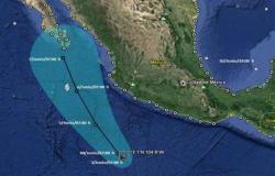 'Blanca' toma fuerza y se convierte en huracán en el Pacífico