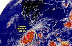 'Blanca' entrará en BCS el domingo o lunes: Conagua