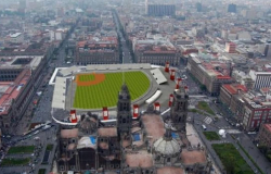 El Zócalo del DF será un estadio de beisbol con el Home Run Derby