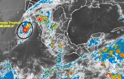 La tormenta tropical 'Blanca' provoca zona de vigilancia en BCS