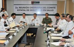 Declaran sesión permanente al Comité Estatal de Seguridad en Salud por temporada de huracanes
