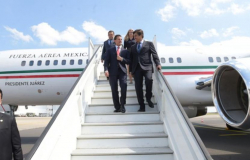 Llega EPN a Bruselas para cumbre Celac-UE