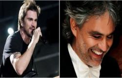 Juanes y Andrea Bocelli le cantarán al Papa