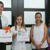 """Premia María del Pilar ganadores del concurso """"Día Mundial sin Tabaco"""""""