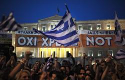 Se manifiestan miles de griegos en favor del 'no' en el referéndum