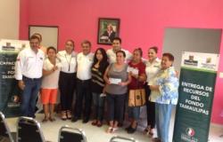 Entregan recursos de Fondo Tamaulipas en tres municipios