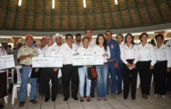 Entregan dos millones de pesos en apoyo al campo de Altamira