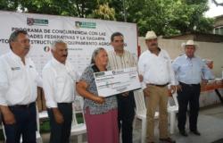 Benefician a más de 300 productores rurales de Aldama